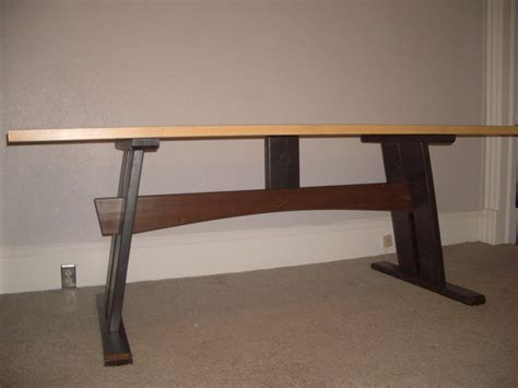Cheap Easy Low waste Trestle Table Plans 8 Steps