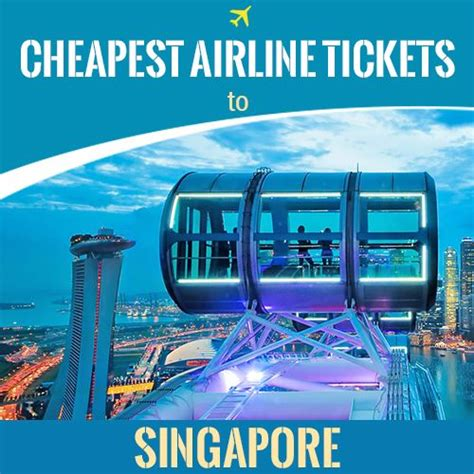 Cheap Flights From Singapore Lowest Airfare Tickets