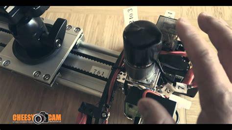 Cheesycam DIY Auto Reverse Polarity Motorized Video Slider