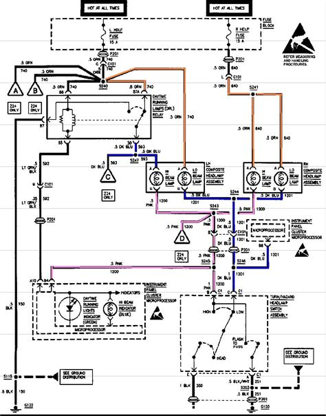 98 cavalier headlight wiring diagram images chevy cavalier headlight wiring diagram chevy wiring