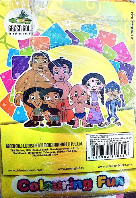 Chhota Bheem Coloring and Activity Books Grab Online