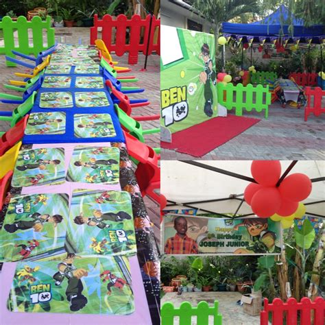 Childrens birthday party venue Ben10 theme party