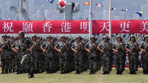 China makes its military more visible in Hong Kong CNN
