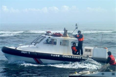 Chinese Coast Guard stationed in Scarborough to administer