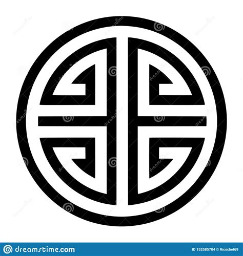 Chinese Lucky Character Symbols Lucky in Chinese