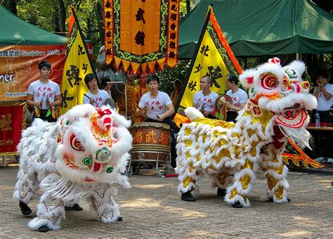 Chinese New Year Customs Lion Dance