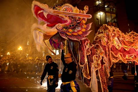 Chinese New Year Festival Parade Visit California