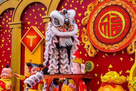 Chinese New Year Lion Dance China Highlights Since 1959