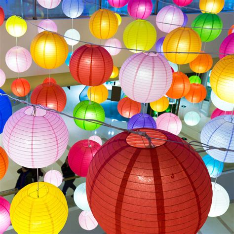 Chinese Paper Lanterns Party Lights More Paper