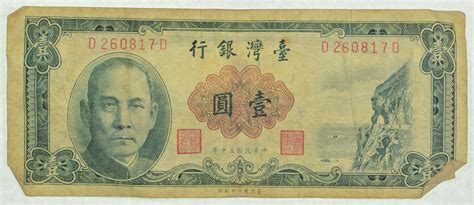 Chinese paper money price list of China banknotes