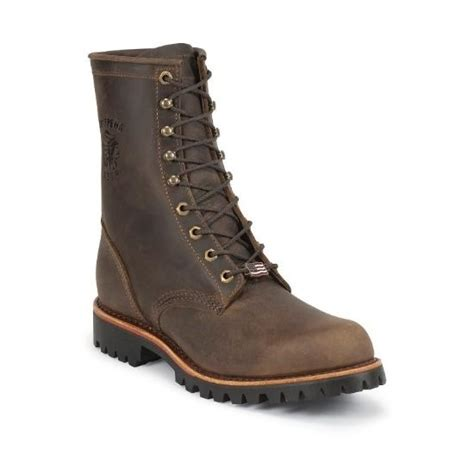 Chippewa Mens Work Boot 8 Steel Toe EH Lace Up Work N Gear