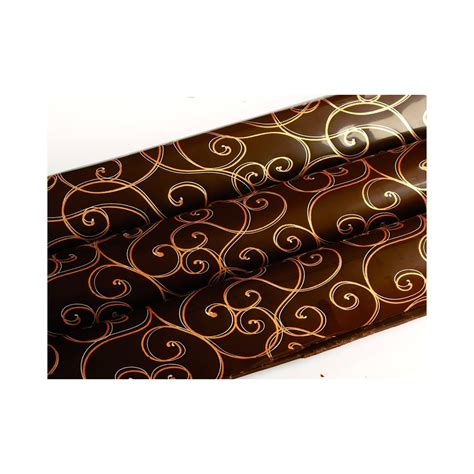 Chocolate transfer sheets For decorating designs on