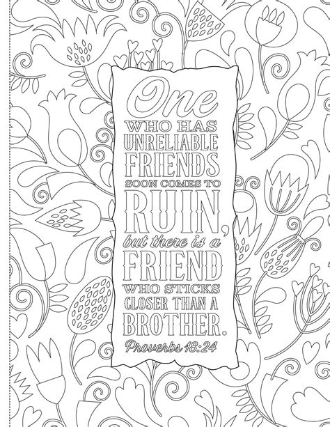 Christian and Bible Coloring Pages