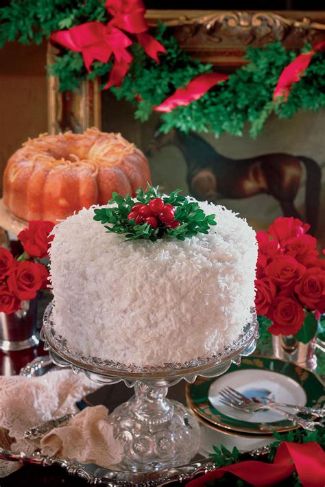Christmas Cake Decorations Southern Living