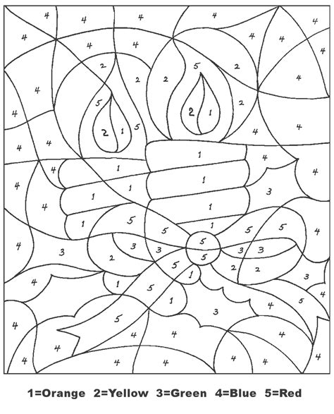Christmas Coloring Online Color by Numbers