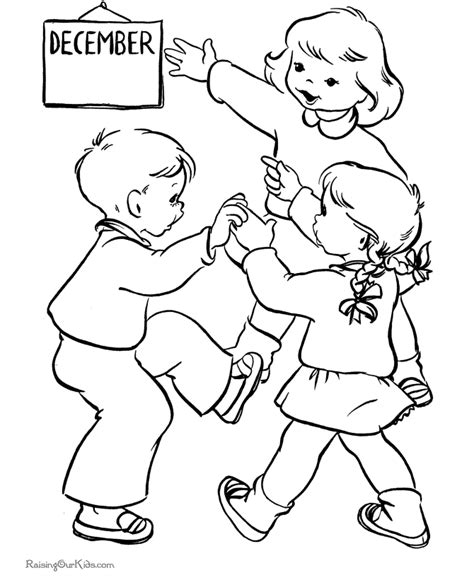 Christmas Coloring Pages Animal Fun Raising Our Kids