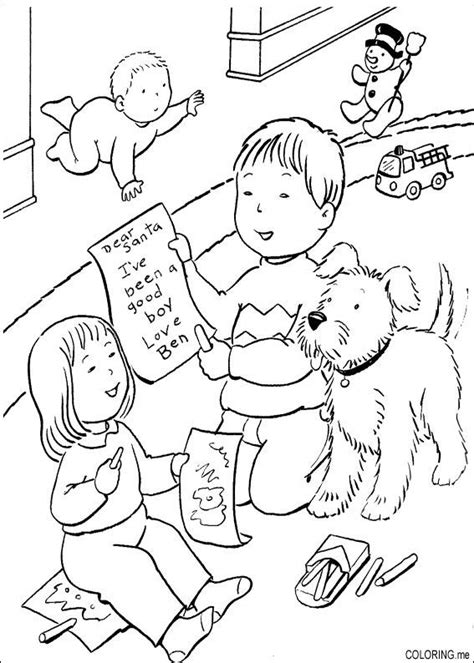 Christmas Coloring Pages Color Me Good