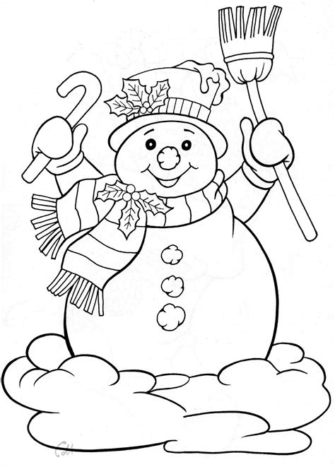 Christmas Coloring Pages Free and Printable