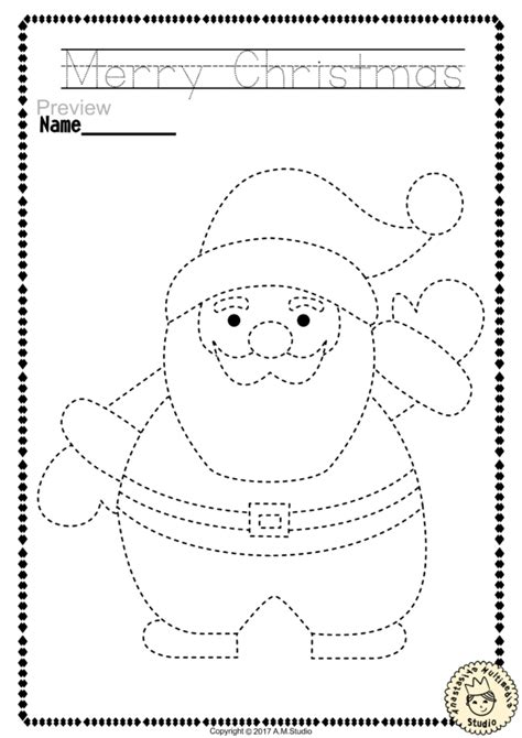 Christmas Coloring Pages and Tracer Pages