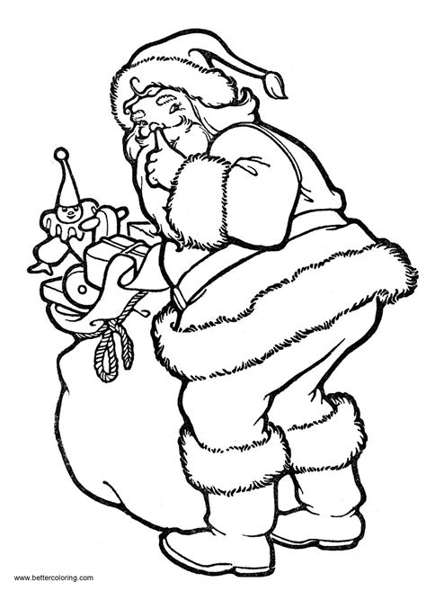 Christmas Coloring Pages for Kids Free and Printable