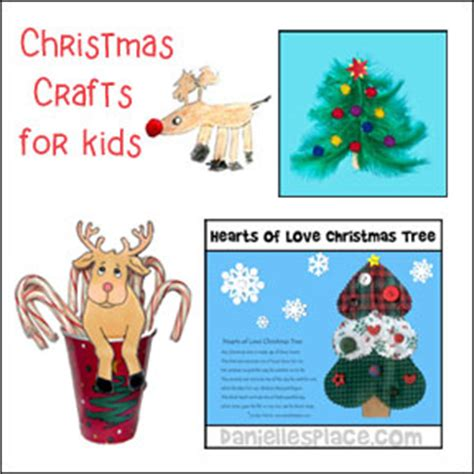 Christmas Crafts for Kids Page 2 Danielle s Place of