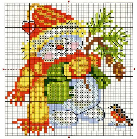 Christmas Cross Stitch Patterns Printable Online