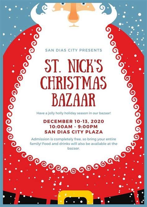 Christmas Flyer Templates Canva