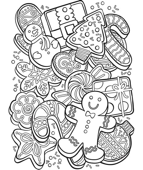 Christmas Free Coloring Pages crayola