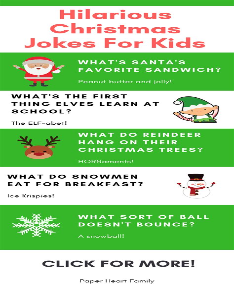 Christmas Jokes For Kids Family Fun