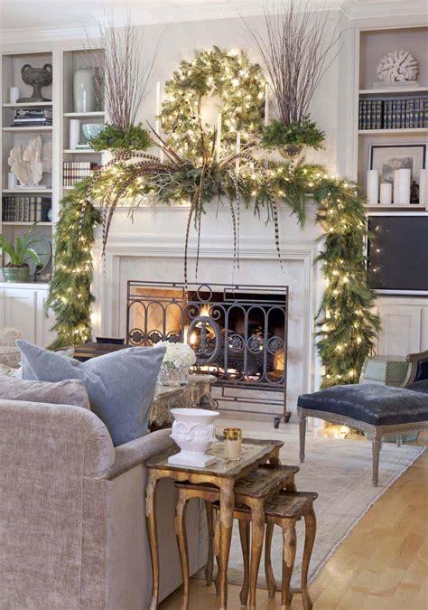 Christmas Mantel Ideas Of Decorating