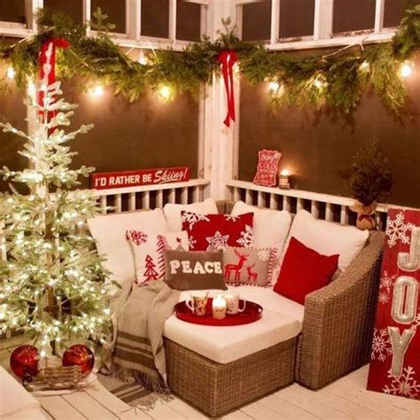 Christmas Patio Decorations