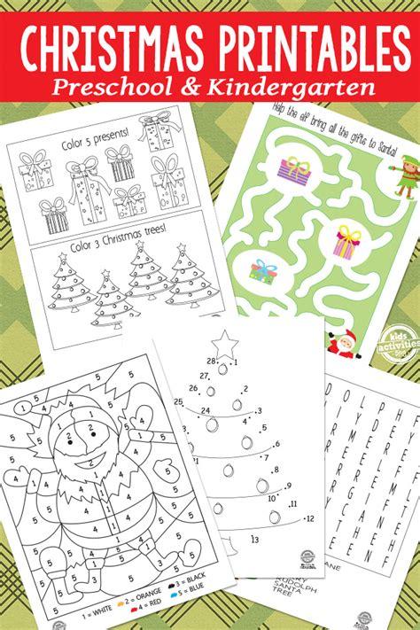 Christmas Printables Making Learning Fun