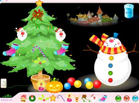 Christmas Room Dress Up and Decoration Game