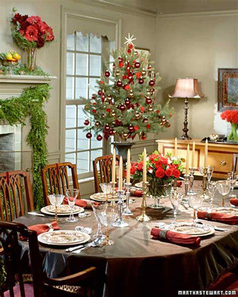 Christmas Table Settings Martha Stewart