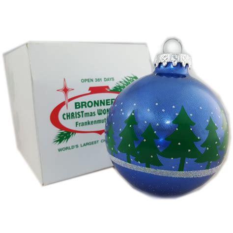 Christmas Tree Ornaments Bronner s CHRISTmas Wonderland
