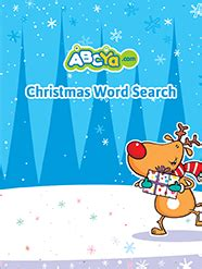 Christmas Word Search for Kids ABCya