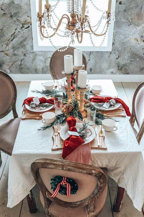 Christmas table settings Etsy