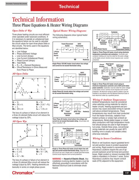 3 phase electric heat wiring diagram images wiring diagram chromalox three phase equations and heater wiring diagrams
