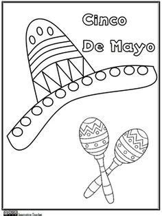 Cinco de Mayo Coloring Pages Have Fun Teaching