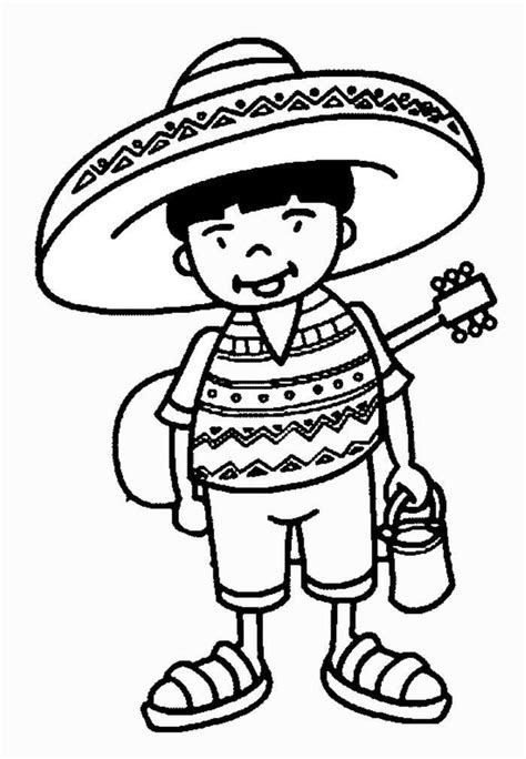 Cinco de mayo Coloring Pages Fun Symbols of Mexico