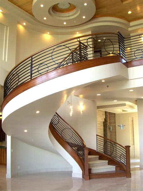 Circular Stairways Curved Staircases Modern Staircase