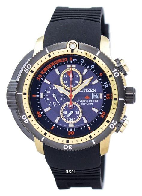 Citizen Watches Eco drive Chronograph Aqualand