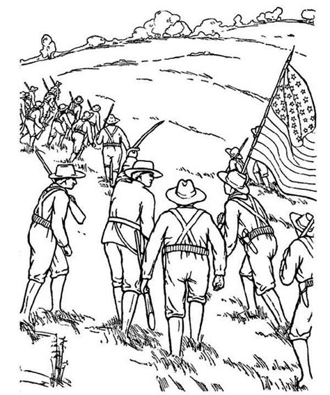 Civil War coloring page Free Printable Coloring Pages