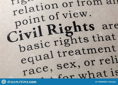 Civil rights Define Civil rights at Dictionary