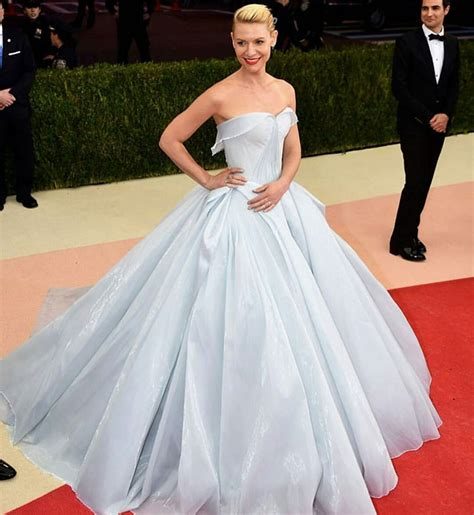 Claire Danes Is Real Life Cinderella at Met Gala in Glow