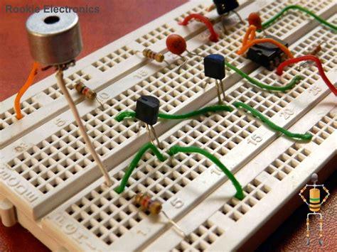 Clap Switch Circuit Rookie Electronics Electronics