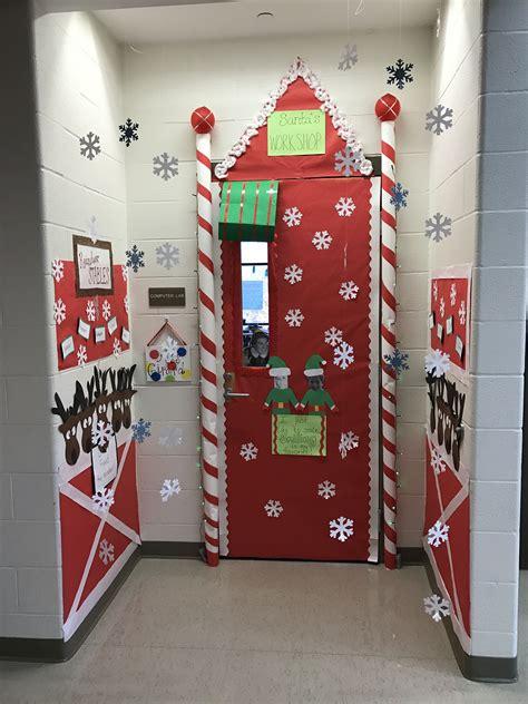 Classroom Door Decorations Ideas For Christmas