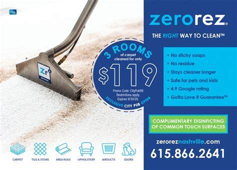 Clean Healthy Residue Free Carpet Cleaning Zerorez LA
