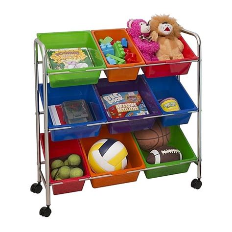 Cleaning Carts Mobile Storage and Organization Staples