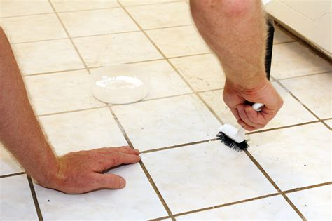 Cleaning Tip How to clean tile floors and white grout
